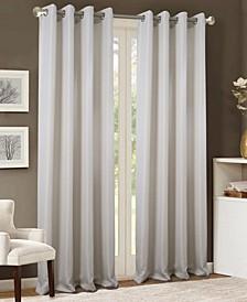 "Akron Textured Jacquard 54"" x 90"" Curtain Panel"