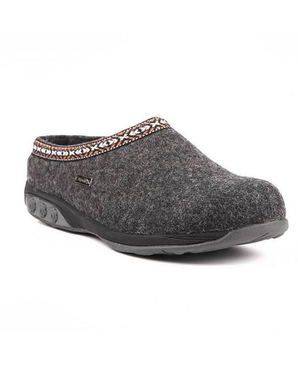 THERAFIT Shoe Heather Indoor/Outdoor Wool Clog Slipper