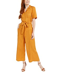 Enzo Belted Wide-Leg Jumpsuit