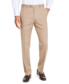 Men's Classic-Fit UltraFlex Stretch Textured Suit Pants