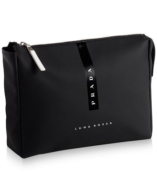 Prada Receive a Complimentary Pouch with any large spray purchase from the Prada Luna Rossa fragrance collection