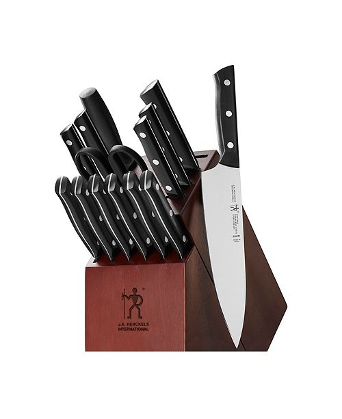 J.A. Henckels Dynamic 15-Pc. Cutlery Set