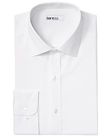 Men's Organic Slim-Fit Stretch Solid Dress Shirt, GOTS Certified, Created for Macy's
