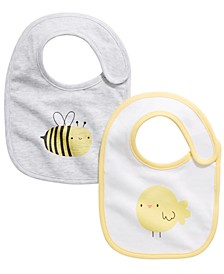 Baby Boys or Girls 2-Pc. Bib Set, Created For Macy's