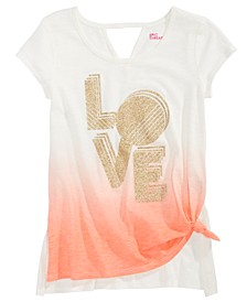 Big Girls Ombré Love T-Shirt, Created For Macy's
