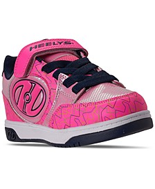 Little Girls Bolt Plus X2 Light-Up Stay-Put Closure Wheeled Casual Athletic Skate Sneakers from Finish Line