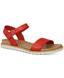 Sun + Stone Mattie Flat Sandals, Created for Macy's