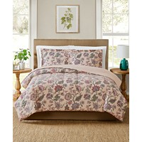 3-Piece Pem America Ridgefield Comforter Mini Set (Full/Queen)