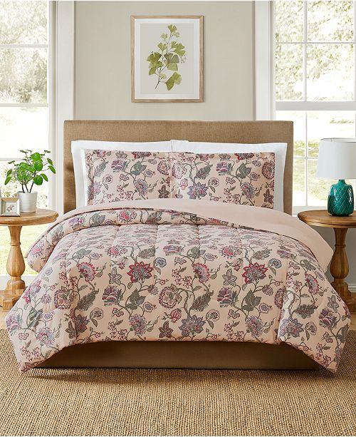 Pem America CLOSEOUT! Ridgefield 2-Pc. Twin Comforter Mini Set, Created for Macy's