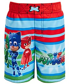 Toddler Boys PJ Masks Swim Trunks