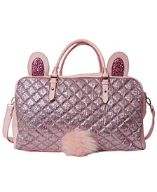 Glitter Bunny Duffle Bag