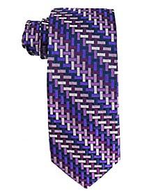 Men's Basket Weave Silk Tie