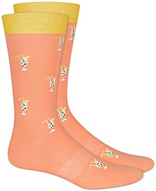 Men's Printed Socks, Created for Macy's