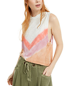 Free People FP Movement Chevron Ombré Love Tank Top