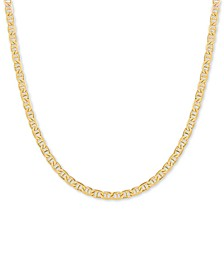 "Mariner 18"" Chain Necklace in 18k Gold-Plated Sterling Silver"