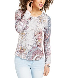 Printed Knit Top, Created for Macy's