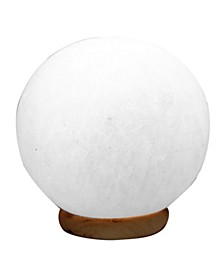 Sphere Himalayan White Salt Lamp