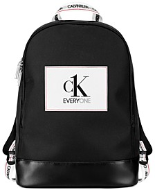 Receive a Complimentary Backpack with a 6.7 oz. spray from the CK Everyone fragrance collection