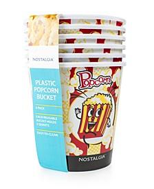 PPB600 4-Qt. Popcorn Bucket, 6 Pack