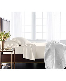 Classic 800 Thread Count White Egyptian Cotton King Flat Sheet, Created for Macy's