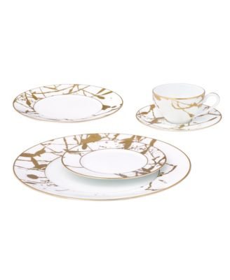 Raptures Gold Salad Plate