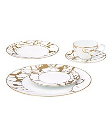 Raptures Gold Dinnerware Collection