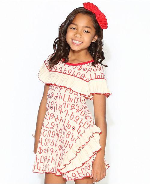Lanoosh Little and Big Girls The Palm Springs Karmir Dress