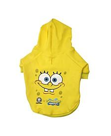 Spongebob Face Hoodie - Dog Clothing