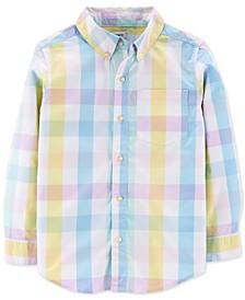 Little & Big Boys Cotton Plaid Shirt