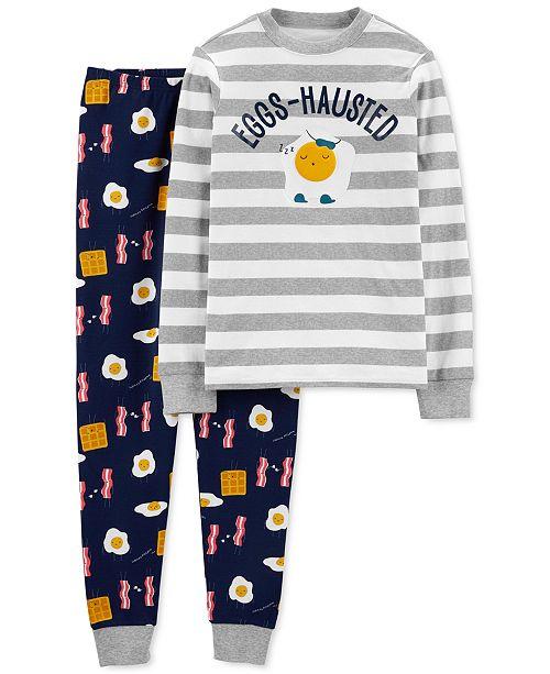 Carter's Men's 2-Pc. Cotton Breakfast Pajamas Set