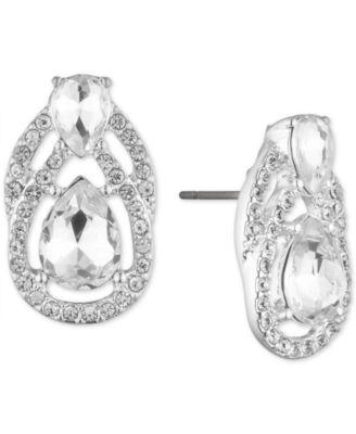 S.Michael Designs Open Edged Tear Drop Earring
