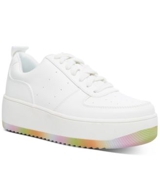 Braxton Platform Lace-Up Sneakers, Created for Macy's