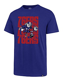 Men's Philadelphia 76ers Triple Stack Repeat Super Rival T-Shirt