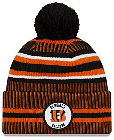 Boys' Cincinnati Bengals Home Sport Knit Hat