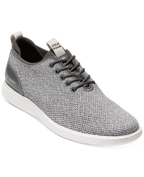 Cole Haan Men's Grand Plus Essex Distance Knit Oxfords