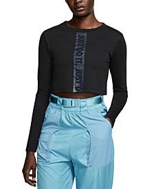 Women's Sportswear Cotton Cropped Top
