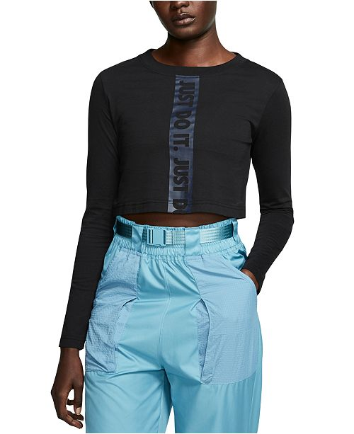 Nike Sportswear Cotton Cropped Top