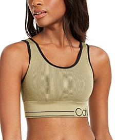 Ribbed Low-Impact Sports Bra