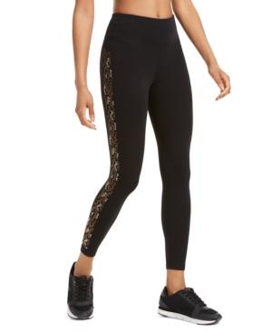Calvin Klein Performance Rhinestone High-waist Leggings In Mlt Topaz Combo