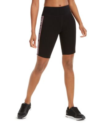 High-Rise Logo Bike Shorts