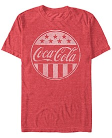 Men's Classic Stars and Stripes Logo Short Sleeve T- shirt