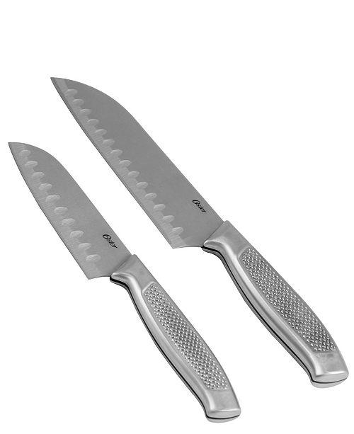 Oster Edgefield 2 Piece Santoku Knife Set