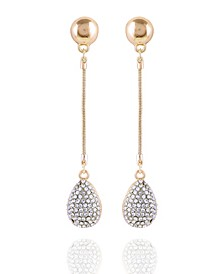 Pave Fire Essential Linear Earring