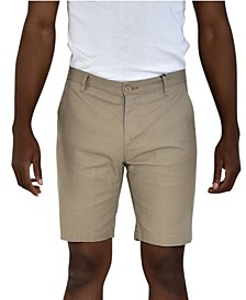 Linen Feel Stretch Shorts