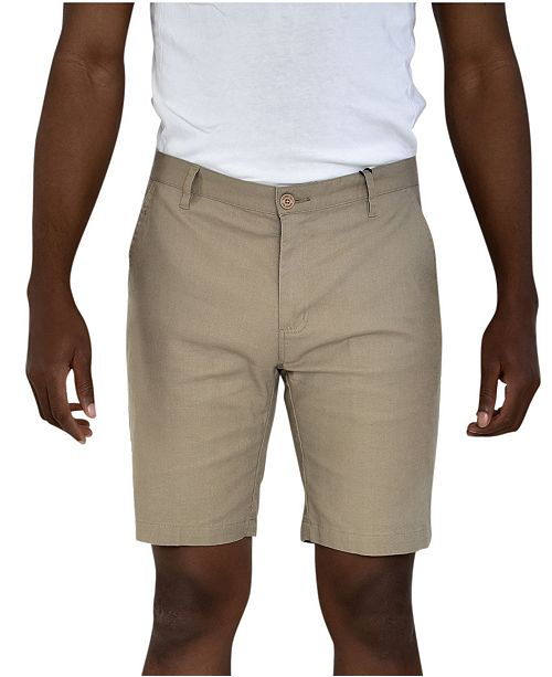 Members Only Linen Feel Stretch Shorts