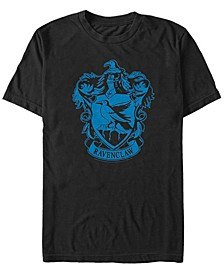 Harry Potter Men's Simple Ravenclaw Crest Short Sleeve T-Shirt