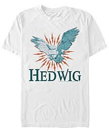 Harry Potter Men's Hedwig Messenger Owl Short Sleeve T-Shirt