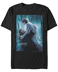 Harry Potter Men's Goblet of Fire Hagrid and Madame Maxime Poster Short Sleeve T-Shirt