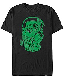 DC Men's Green Lantern Big Logo Short Sleeve T-Shirt