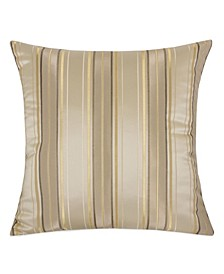 Madison Stripe Square Decorative Throw Pillow